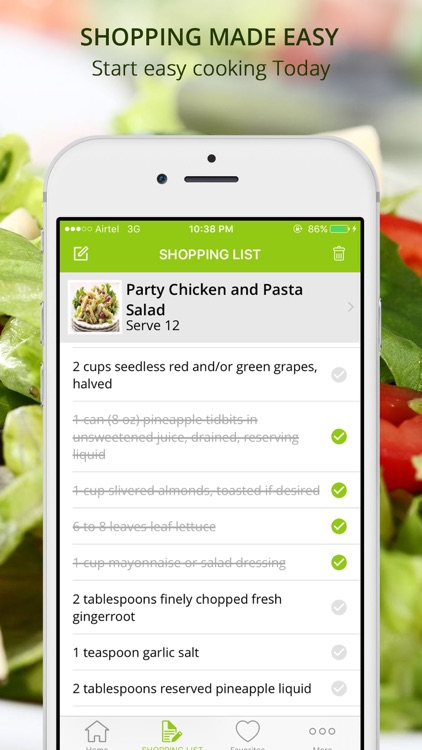 Premium Salad Recipes - cook and learn guide screenshot-4