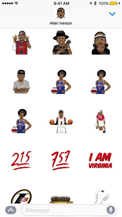 Allen Iverson ™ by Moji Stickers