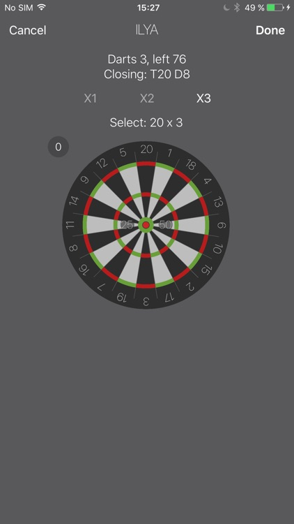 Darts Cheat