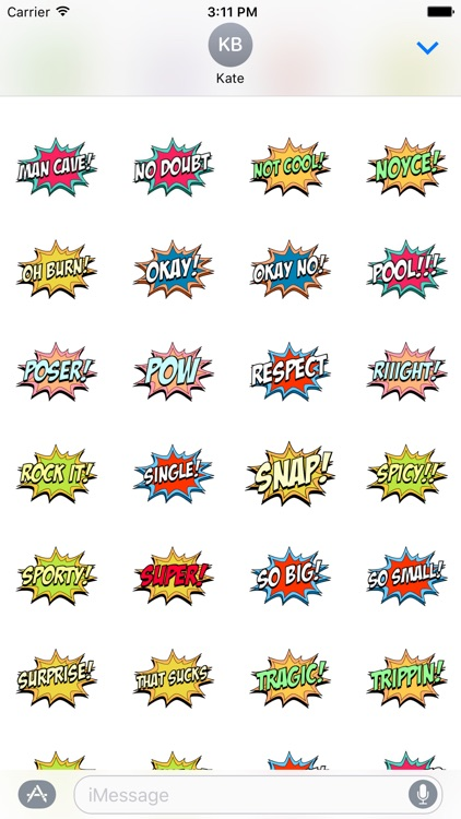 Phrase Stickers