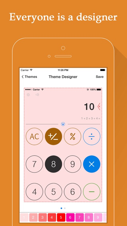 Voice Calculator HD - Personalized Calculator screenshot-3