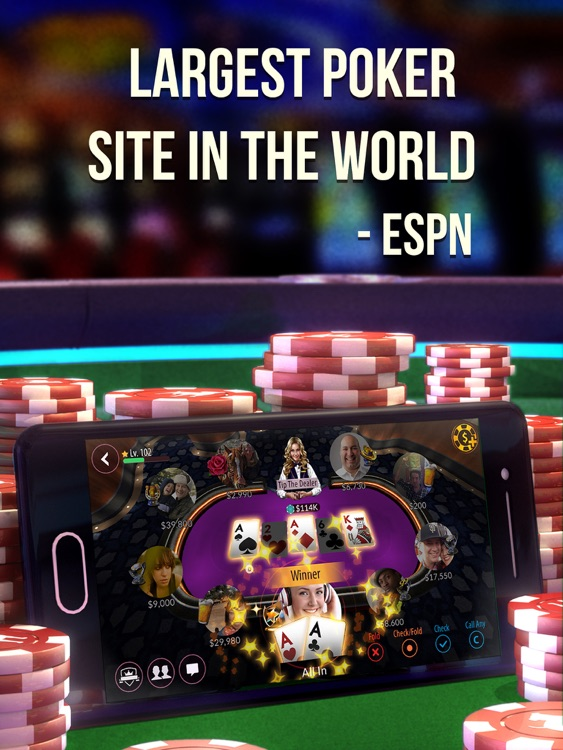 Zynga Poker HD: Vegas Casino Card Game