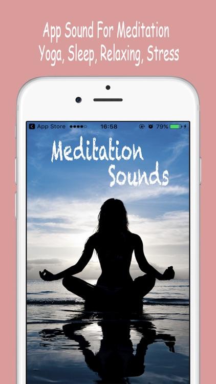 Meditation Sound - Yoga, Sleep, Relaxing, Stress
