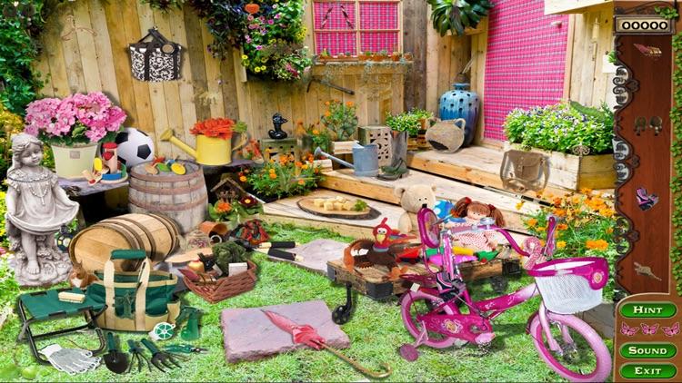 Garden Treasure Hidden Object