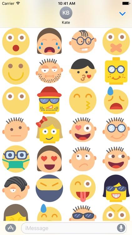 Emoji Sticker for iMessage