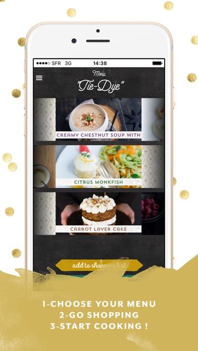 Et voilà ! Christmas food - menus, ideas & recipes screenshot one
