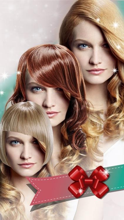 Virtual Hairstyle.s Picture Frames - Hair Salon screenshot-3