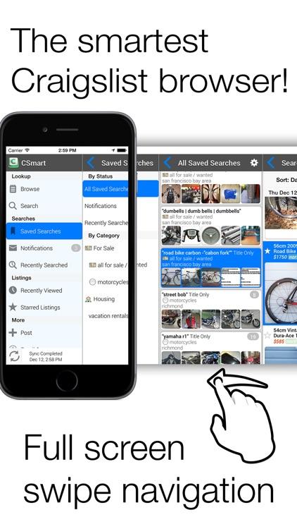 CSmart for craigslist - Mobile classifieds app app image