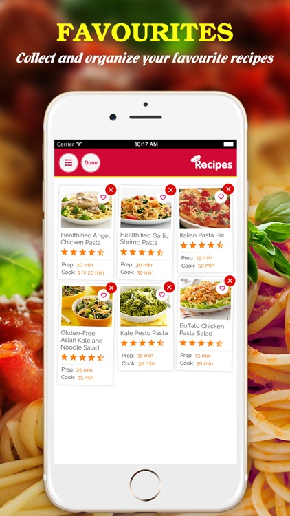 Yummy Pasta Pro ~ Best of delicious pasta recipes screenshot-3