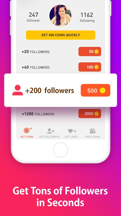 Get Followers & Get Likes - for Instagram by Headlamp Ltd