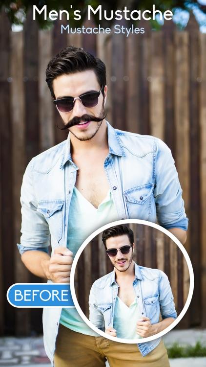 Man Hair Mustache and Beard Style screenshot-3