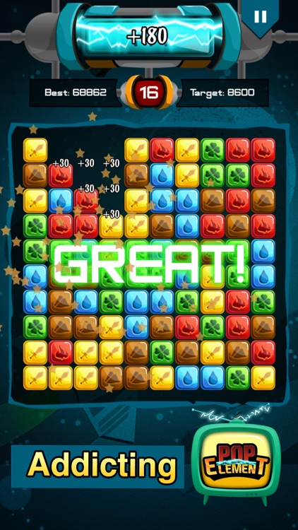 Popstar Element - Pop the stars for puzzle lovers screenshot-1
