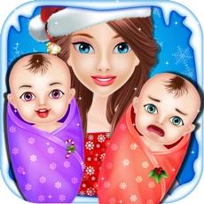 Activities of Christmas Twins NewBorn Baby Care - kids game