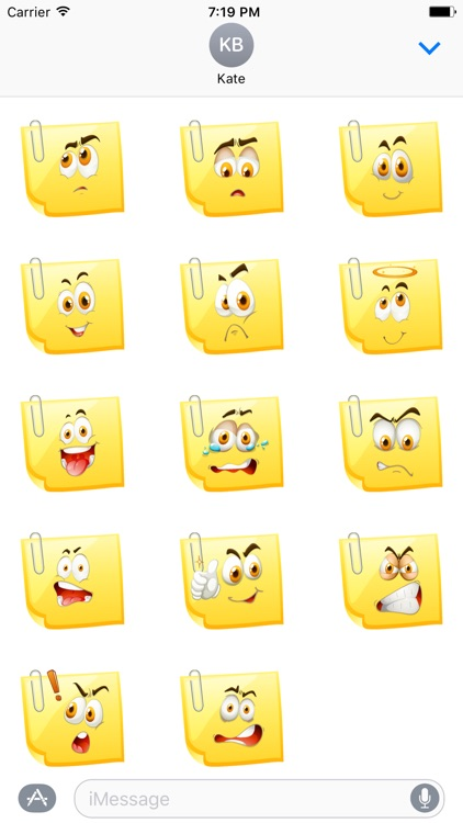 Sticky Notes Smileys