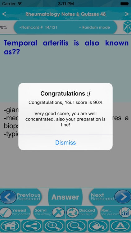 Rheumatology Exam Review App- 6200 Terms & Quizzes screenshot-4
