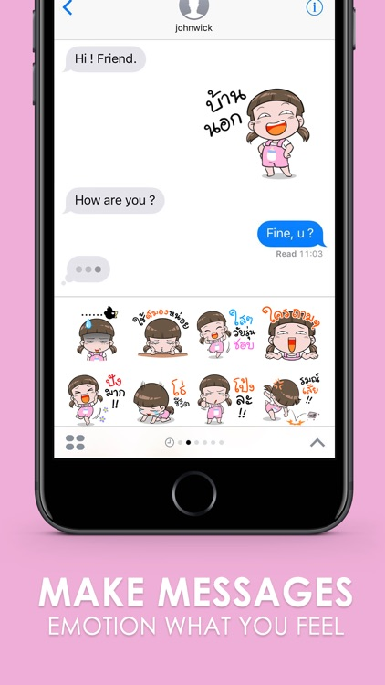 NomYen Stickers Emoji Keyboard By ChatStick