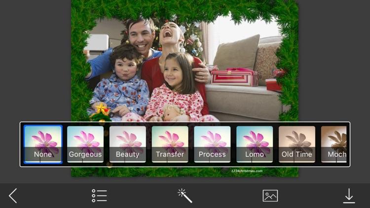 Creative Christmas Photo Frames - Fx editor screenshot-3