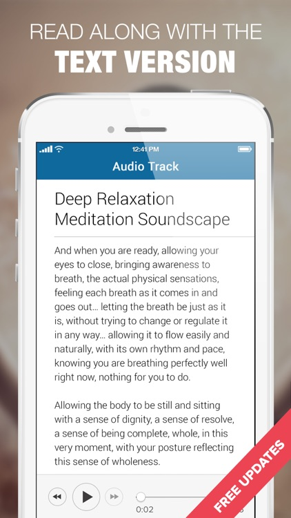Relaxing Meditation Music & Calm Relaxing Sounds screenshot-4