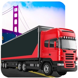 City Cargo Truck Driver 3D: Transportation Trailer