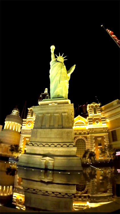 VR Las Vegas Strip South Walk Virtual Reality 360 screenshot-3
