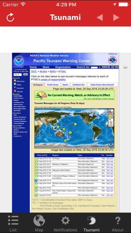 Earthquake Lite - Realtime Tracking App screenshot-4
