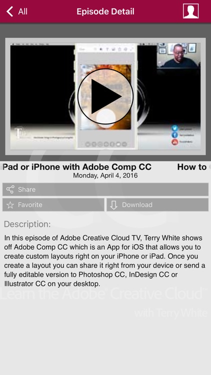 Learn Adobe Creative Cloud with Terry White