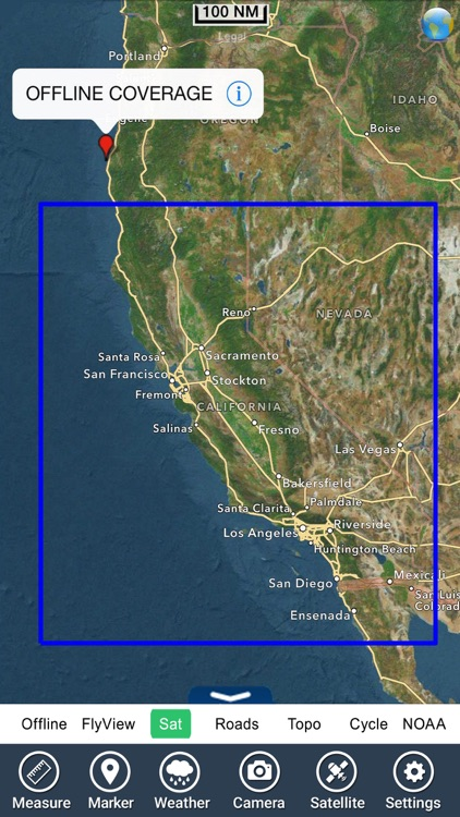 Marine & Lake : California Fishing chart Navigator screenshot-4