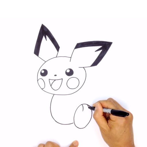 How To Draw Pokemon Step By Step Easy By Lvxiang Song