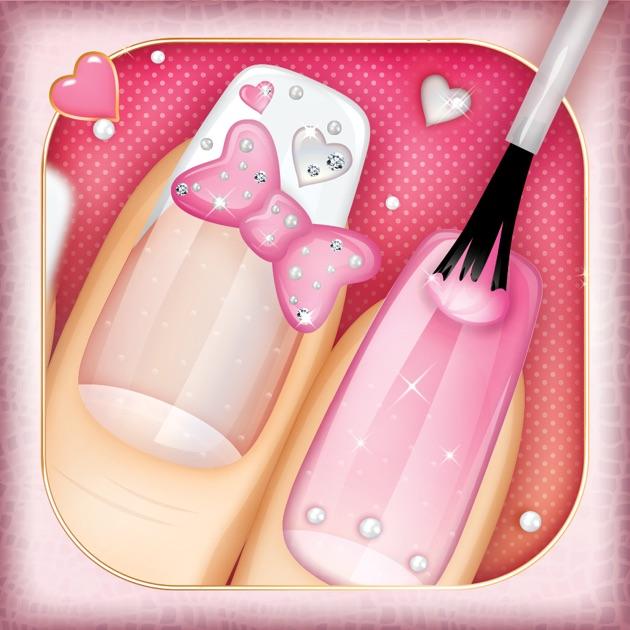 Nail salon game beauty makeover nails art spa games for girls nail salon game beauty makeover nails art spa games for girls on the app store prinsesfo Images