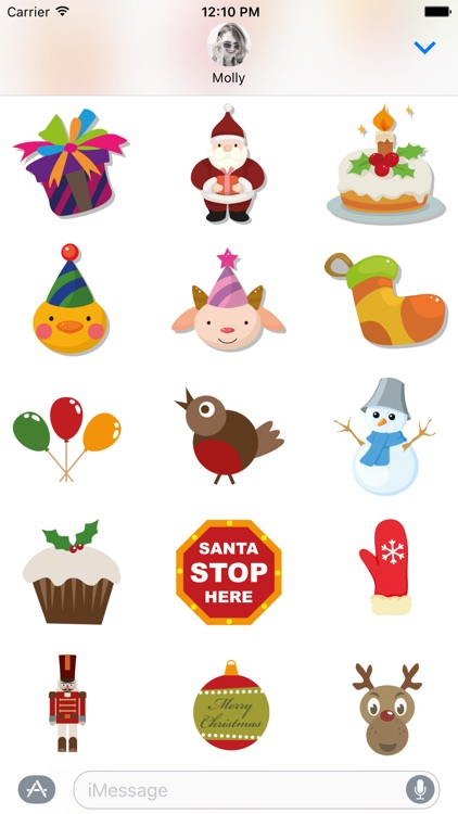 Merry Christmas – Santa Stickers for iMessage screenshot-3