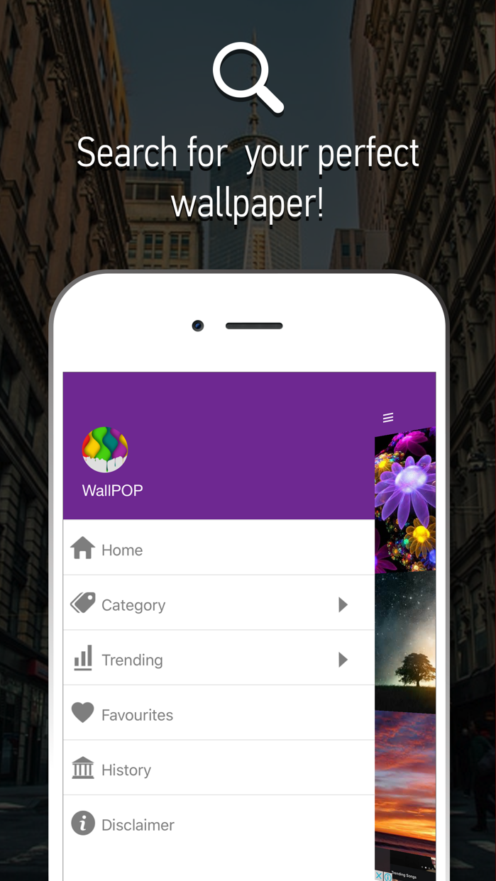 Wallpapers Themes- Custom Lock Screens,Backgrounds Screenshot