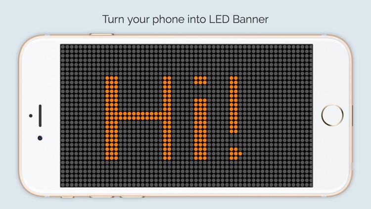 LED Banner+ -  LED board scrolling messages