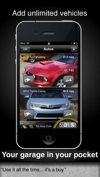 Car Care - fuel economy & service tracking