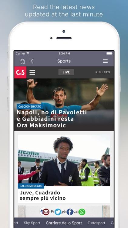 Italian Newspapers screenshot-3