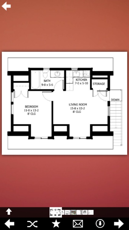 Garage With Living Space Plans screenshot-4