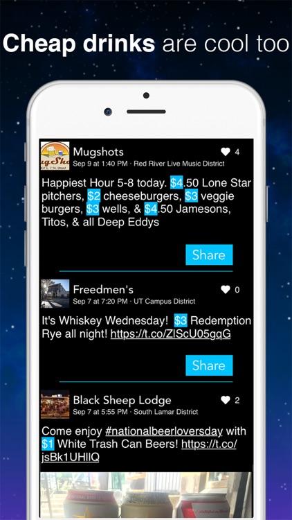 SceneCheck · Best Bars, Clubs, and Drink Specials screenshot-3
