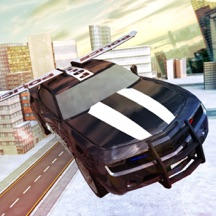 Free Sports Police Flying Car Simulator