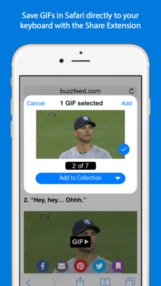 Screenshot for GIF Keyboard in Malaysia App Store