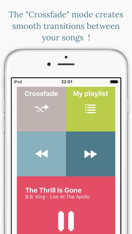 Stop&Go Music Player - Control your music