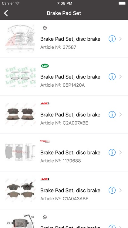 Car parts for Audi - ETK, OEM screenshot-2