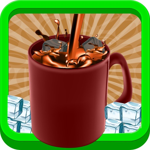 Ice Coffee maker - Make creamy dessert in this cooking fever game for kids