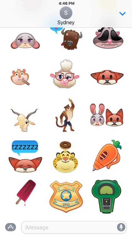 Disney Stickers: Zootopia
