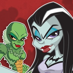 Monster Pin-up Stickers