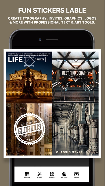 Photo Poster Pro - photo frame editor and picture collage maker screenshot-4