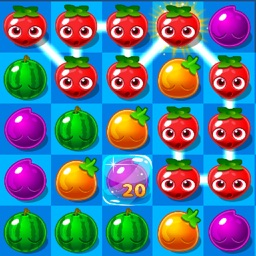 Fruit Link: Blast Mania Game In Farm World 4 Kids