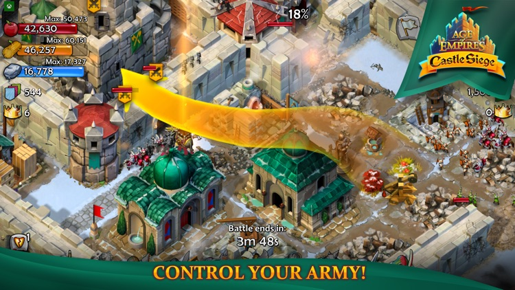 Age of Empires: Castle Siege screenshot-0