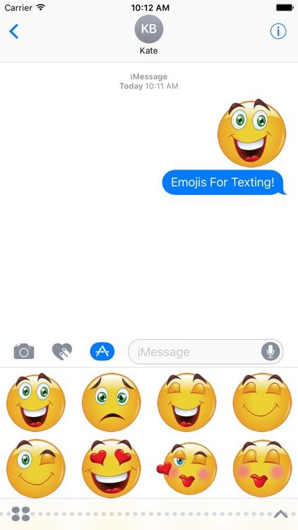Basic Emoji Stickers