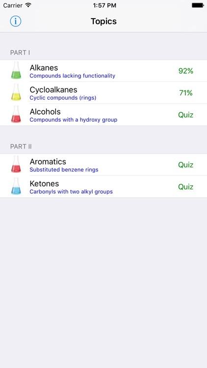 Learn Organic Chemistry Nomenclature LITE
