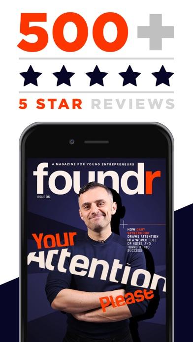 AAA+ Foundr - スタートアップのための起業家誌スクリーンショット4