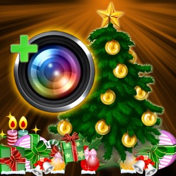 InstaSanta Camera - Happy New Year, Christmas Card